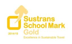 Sustrans Gold Award Icon